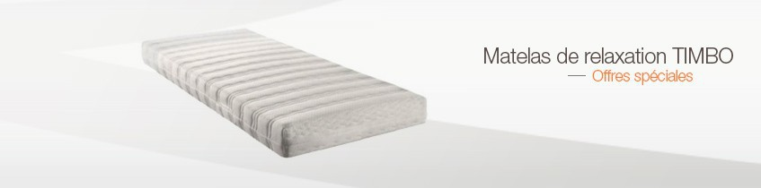 Matelas de relaxation TIMBO